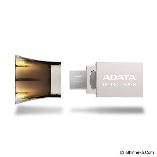 ADATA Choice USB OTG Flash Drive 32GB [UC330-32GB] - Usb Flash Disk Dual Drive / Otg